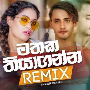 Mathaka Thiyaganna (Remix) mp3 Download